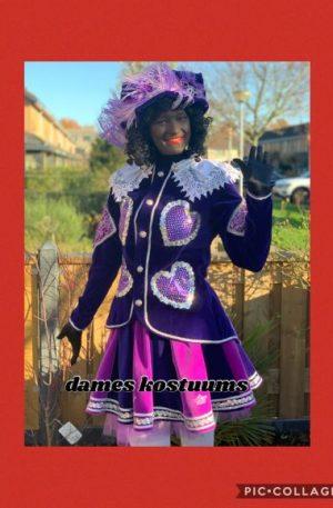 Zwarte pieten (dames kostuums)